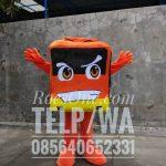 Produsen Kostum Maskot Bis untuk Promosi Perusahaan