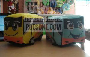 Produsen Boneka Maskot Bus Rosalia Indah Transportasi