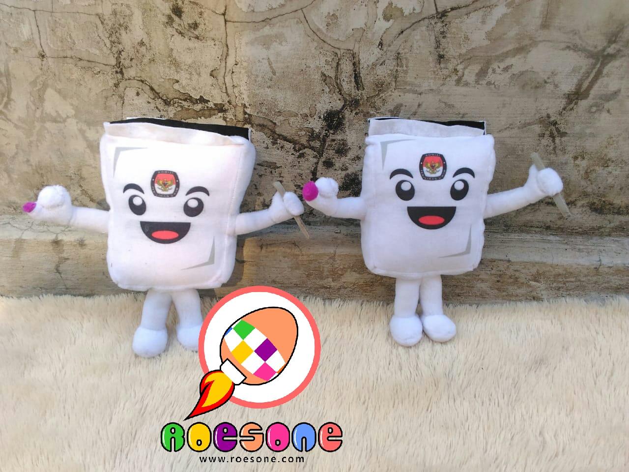 Produsen Boneka Maskot Pemilu Serentak 2019 Banjarmasin