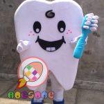 Produsen Badut Maskot Gigi Fakultas Kedokteran Gigi