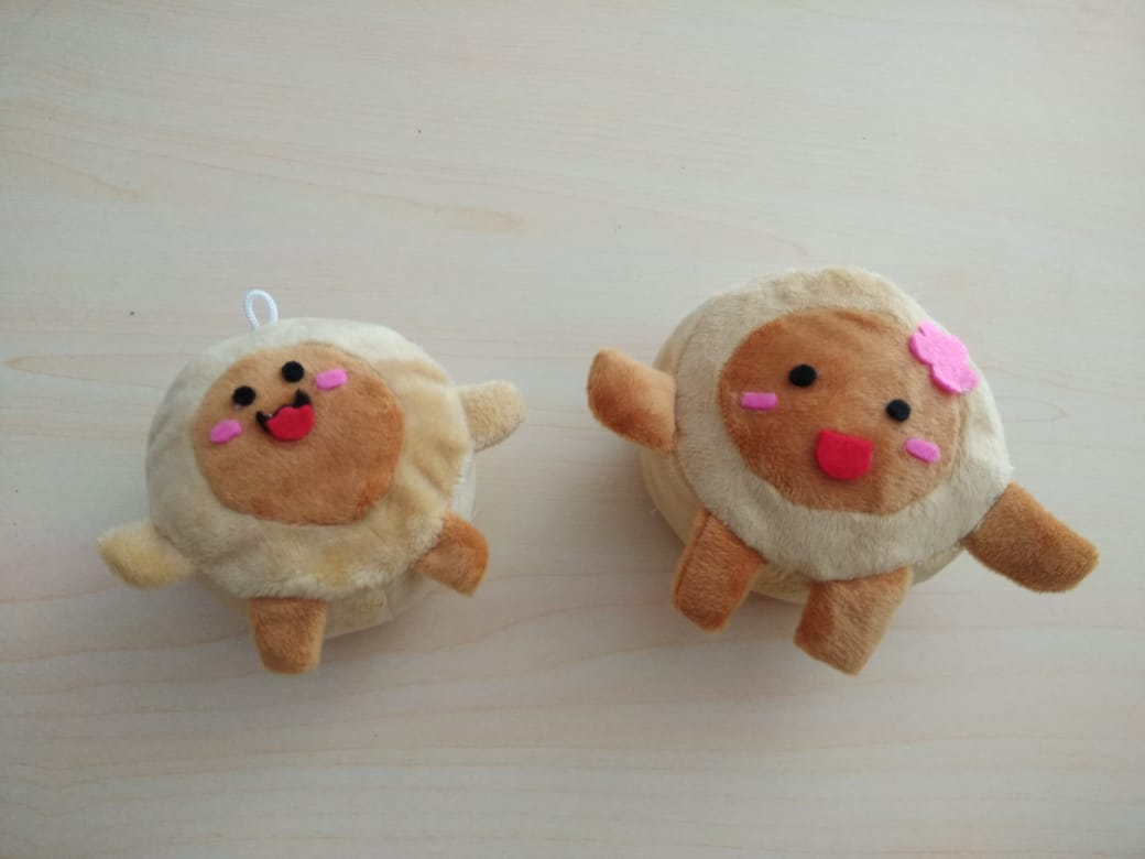 Produsen Boneka Maskot Kue Bakpia Jogja