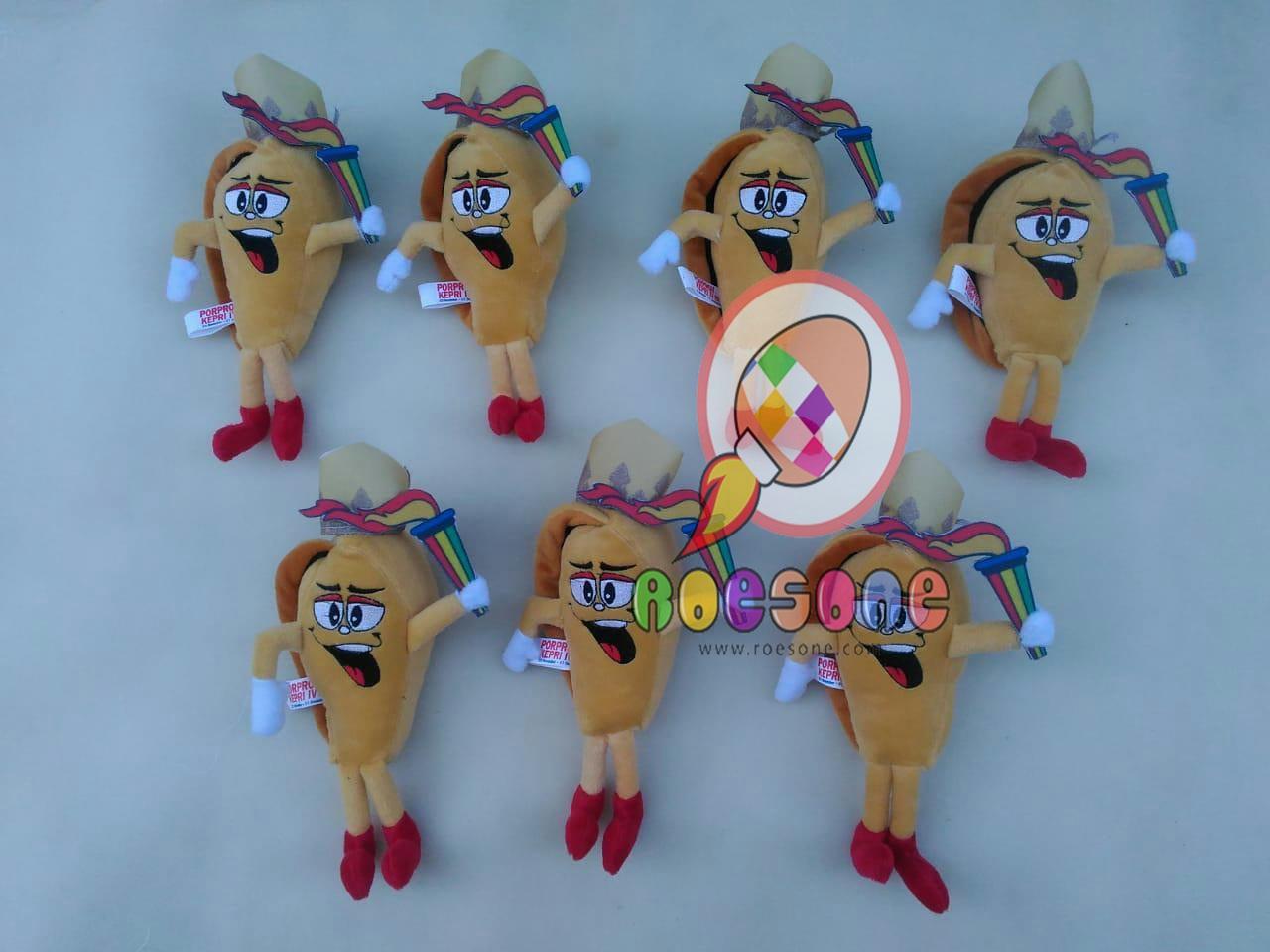 Produsen Boneka Maskot dan Badut Porprov Kepulauan Riau KEPRI