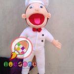 Toko Boneka Puppet Profesi Koki