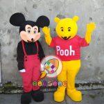 Produsen Badut Mickey Mouse dan Pooh