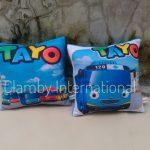 Produsen Bantal Print Tayo Souvenir Ulang Tahun Anak