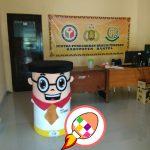 Produsen Boneka Badut Maskot Bawaslu Kabupaten Bantul