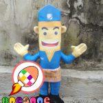 Boneka Maskot NARA Bank Nagari Padang Sumatera Barat