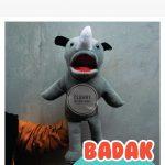 Produsen Boneka Muppet Edukasi Anak Karakter Badak