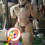 Pembuat Kostum Bumblebee Cosplay Transformers