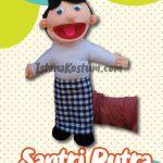 Boneka Muppet Muslim Santri Putra Edisi Ramadhan