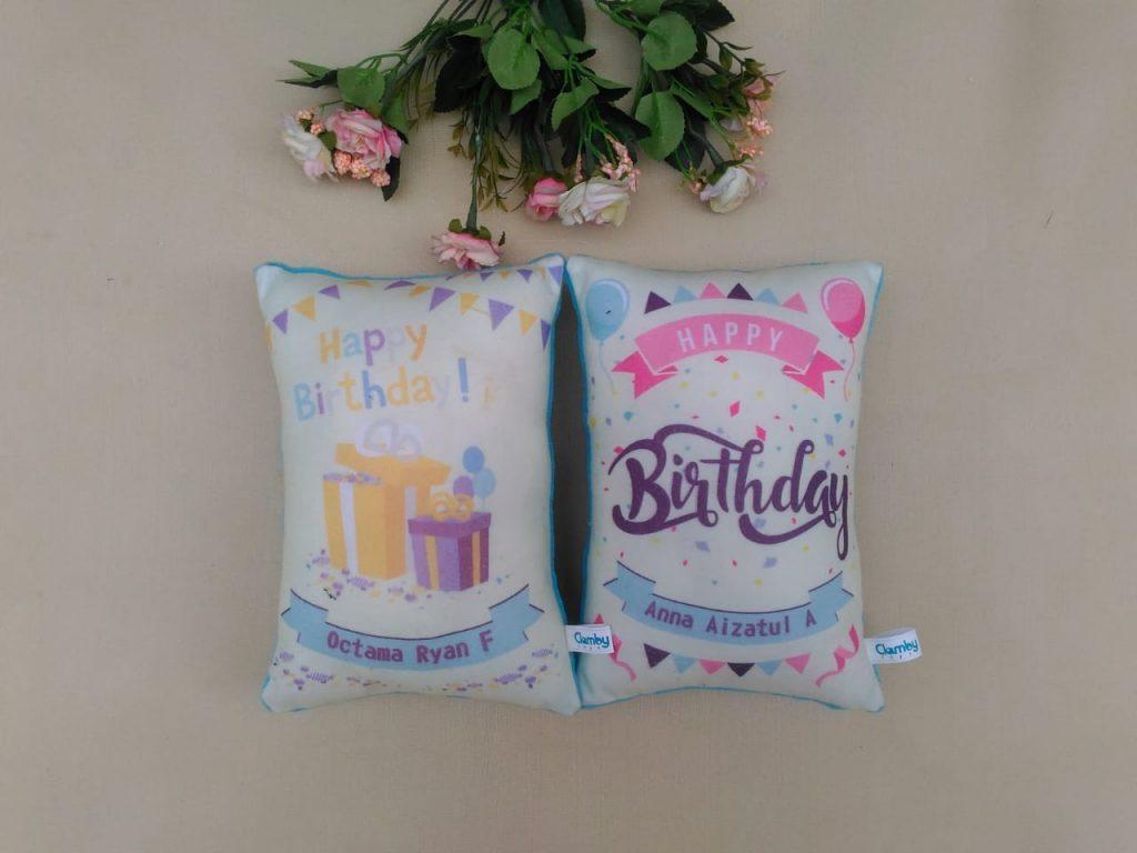 Produsen Bantal Print Souvenir Ulang Tahun Anak