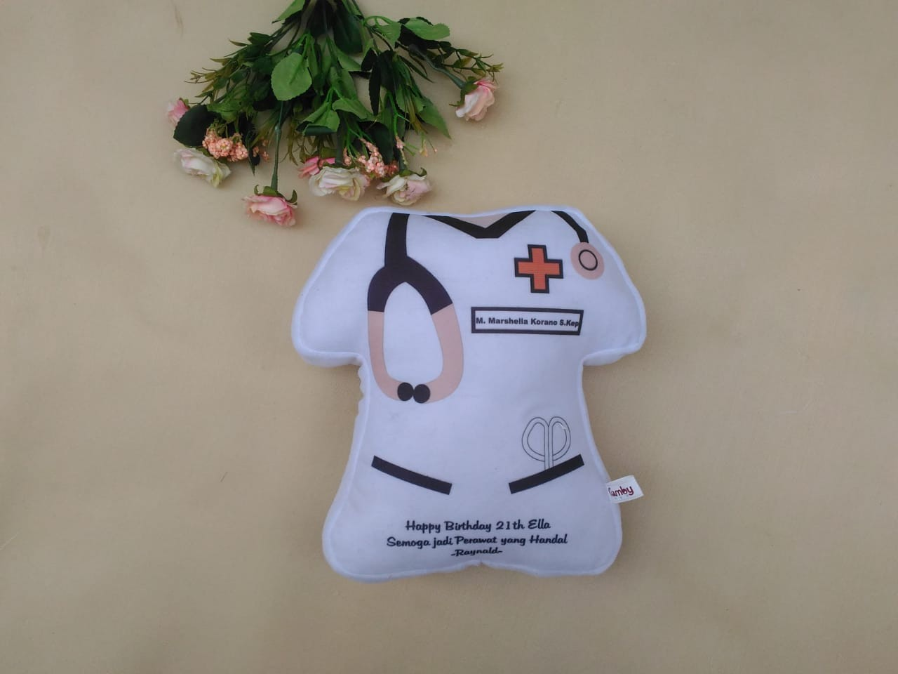 Produsen Bantal Souvenir Rumah Sakit dan Klinik