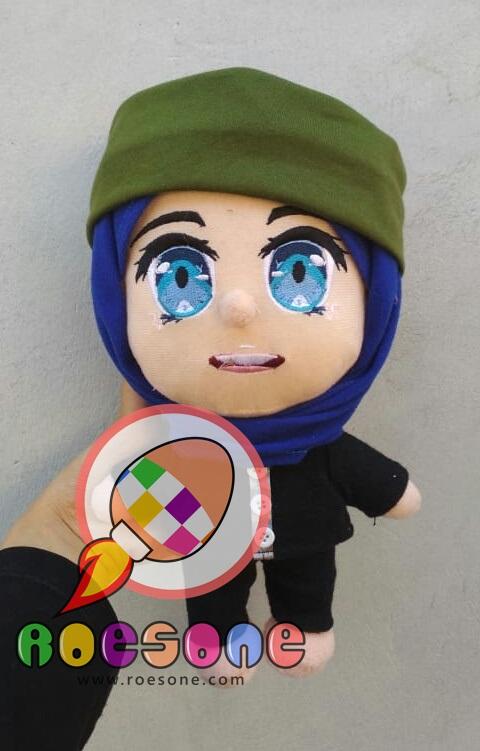 Produsen Boneka Maskot SMK Muhammadiyah Blora Samini