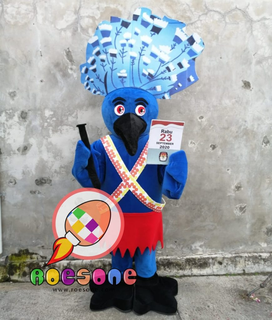 Produsen Badut Maskot KPU Manokwari Papua 2020