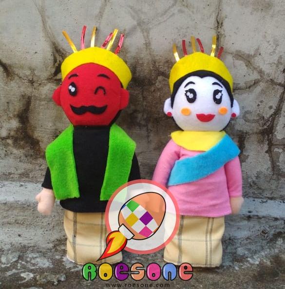Produsen Boneka Maskot Ondel-ondel Kesenian Tradisional Betawi Indonesia