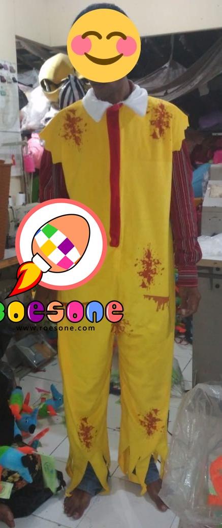 Produsen Kostum Badut Cosplay Mc Donald Baju Hantu Horror