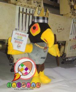 Produsen Boneka Maskot KPU Kabupaten Teluk Wondama Papua