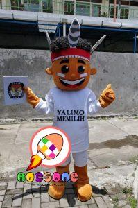 Promo Kostum Badut Maskot Yalimo Papua