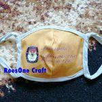 Masker Kain Sosialisasi KPU untuk PILKADA 2020