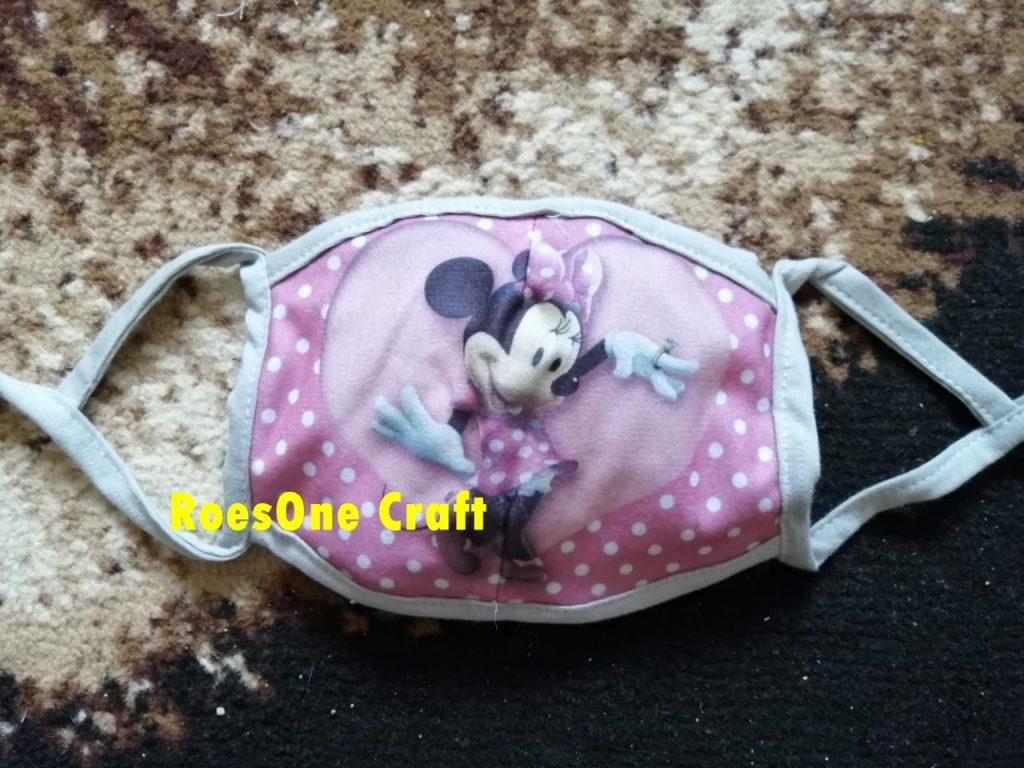 Promo Masker Kain Anak Karakter Minnie Mouse