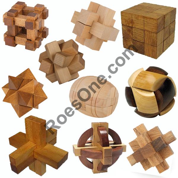 Wooden Puzzles Melatih Kecerdasan dan Kecepatan
