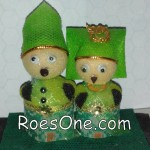 Pembuat Boneka Souvenir Wedding Custom Murah