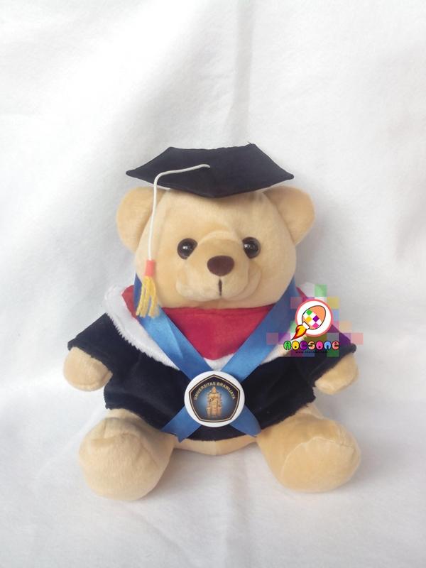 Boneka Wisuda Universitas Brawijaya