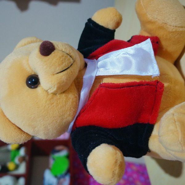 Boneka Teddy Bear Profesi Hakim Jaksa Agung Wisuda Profesi