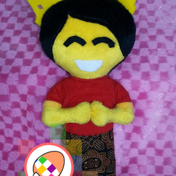 RENA Boneka Maskot Makassar Traditional Games Festival 2016