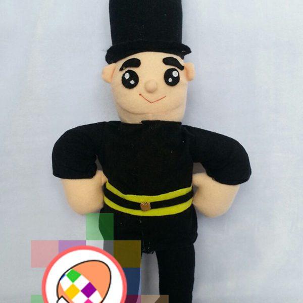 Boneka Prajurit Bugis Ikon Khas Jogja
