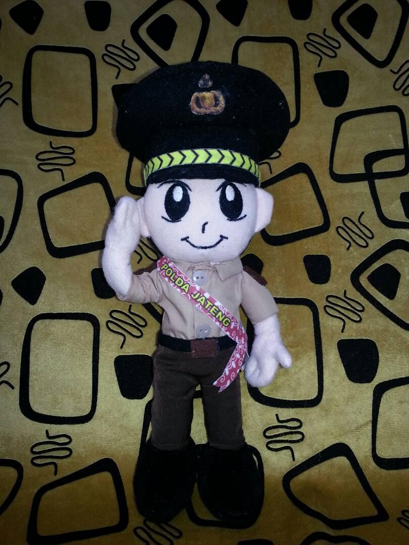 Produsen Boneka Maskot Polisi Daerah (POLDA) Jawa Tengah
