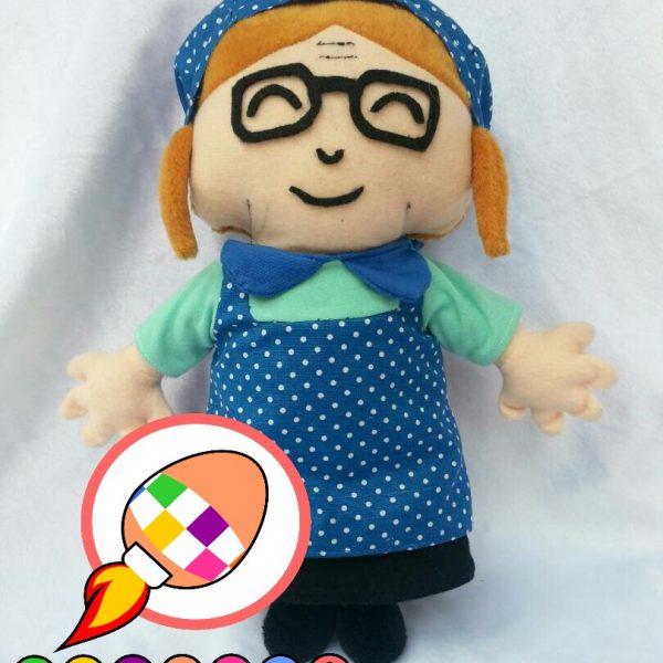 Produsen Boneka Maskot Promosi Cafe Karakter Nenek
