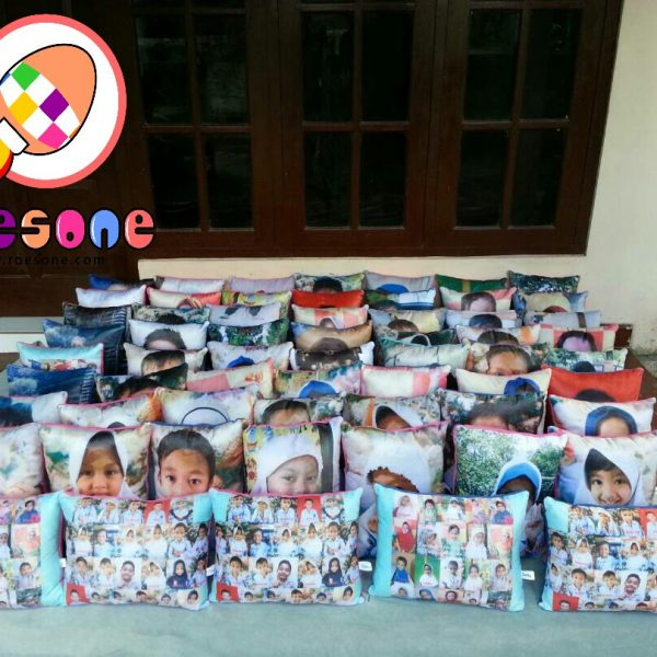 Bantal Souvenir Wisuda TK Dayyinah Kids 2 Rumbai Pekan Baru