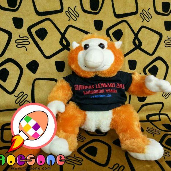 Produsen Boneka Maskot Bekantan KEJURNAS LEMKARI 2016 Kalimantan Selatan