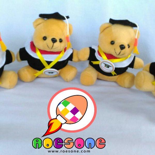 Boneka Teddy Bear Souvenir Wisuda Universitas
