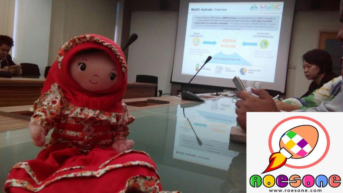 Boneka Batik RoesOne di MAGIC Malaysia untuk Meningkatkan Strategi Internet Marketing