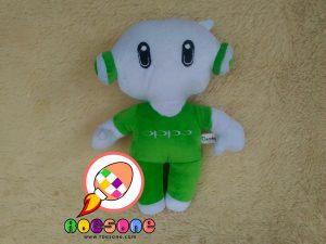 Boneka Promosi Oppo Smartphone ala RoesOne Craft