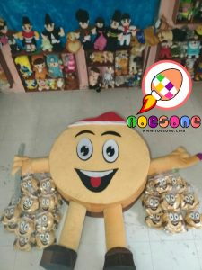 Boneka Jumbo Maskot KPU Polman Sulawesi Barat