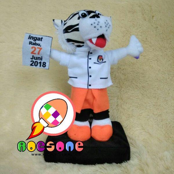Boneka Maskot KPU Kota Kediri Jawa Timur