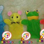 Boneka Tangan Karakter Hewan Untuk Anak