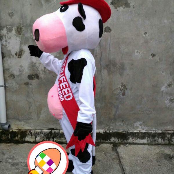 Produsen Boneka Badut Promosi Nutrifeed Pakan Ternak