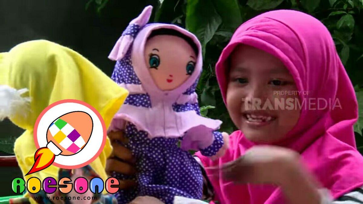 Produsen Boneka Maskot RoesOne Craft di Laptop si Unyil Trans 7
