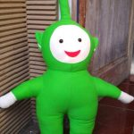 Reparasi Boneka Teletubbies Before and After