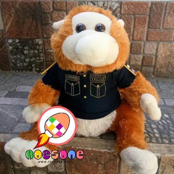 Produsen Boneka Maskot Custom Excise Bekantan