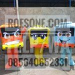 Produsen Badut Maskot Bus Rosalia Indah Transport