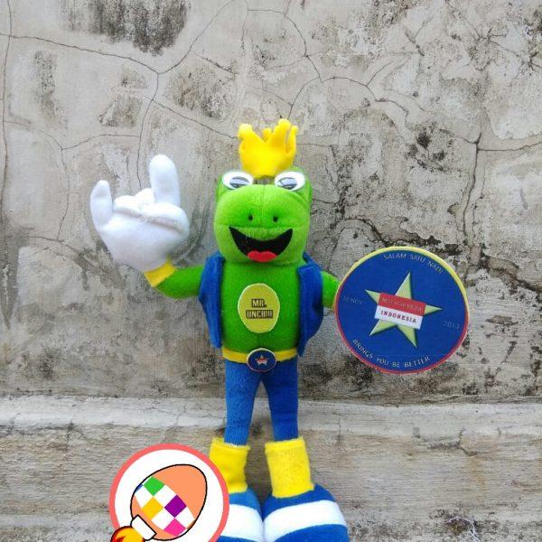 Produsen Boneka Maskot dan Badut karakter Kodok Best Star