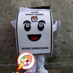 Produsen Boneka Badut Promosi KPU Tapanuli Selatan