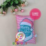 Bantal Print Souvenir Merry Christmas Murah