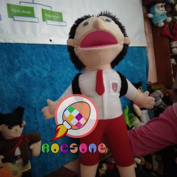 Produsen Boneka Muppet Anak SD Karakter Pelajar