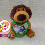 SALE Paket Boneka Simba dan Bantal Foto Custom